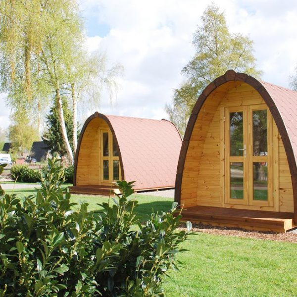 Camping Pods 2,4m width Insulated