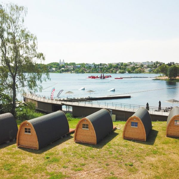 Camping Pods 3m width, Not Insulated