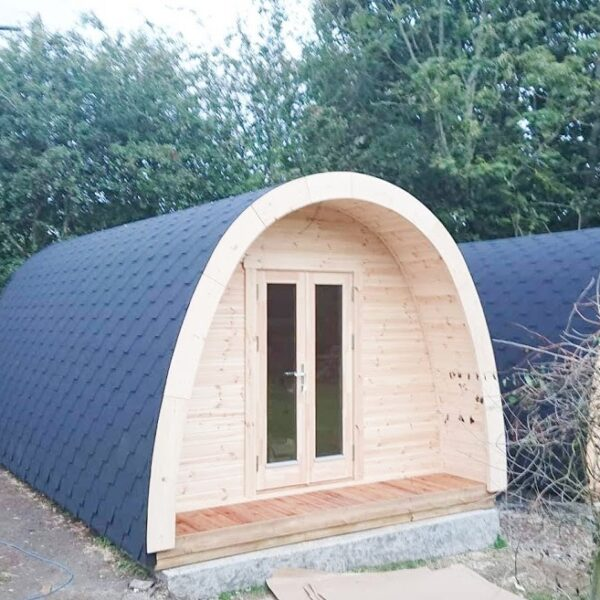 Camping Pods 3m width Insulated