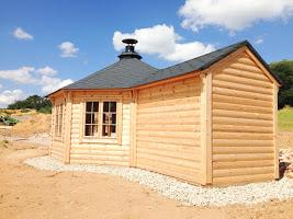 Pavilion 9,2m² with 2,5m Extension