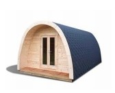 Camping pod 3m width 28mm walls Not insulated